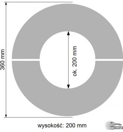 Termokręgi szamotowe - krążki akumulacyjne