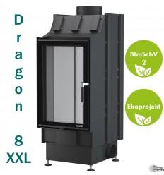 Dragon 8 XXL - pionowy kominek