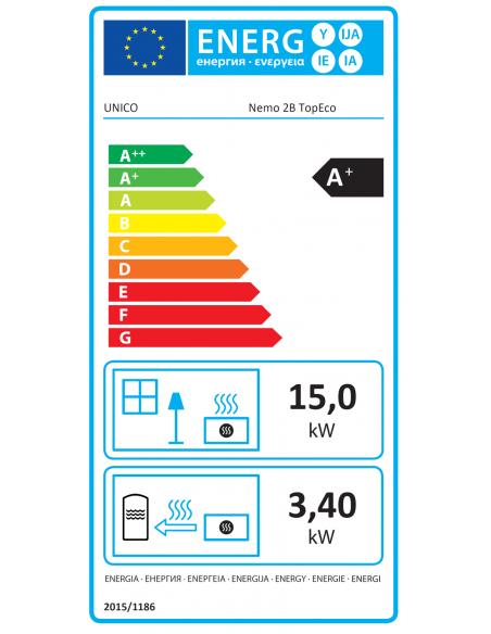 Etykieta energetyczna UNICO Nemo 2B