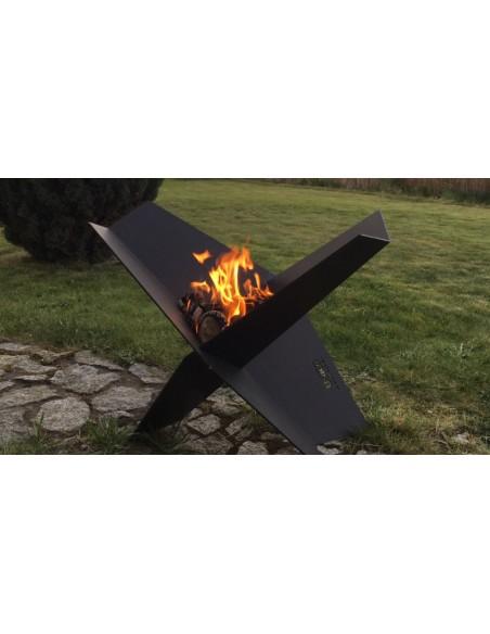 Wizualizacja paleniska ogrodowego Fire