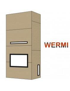 Kominek WERMI-2 z płyt...