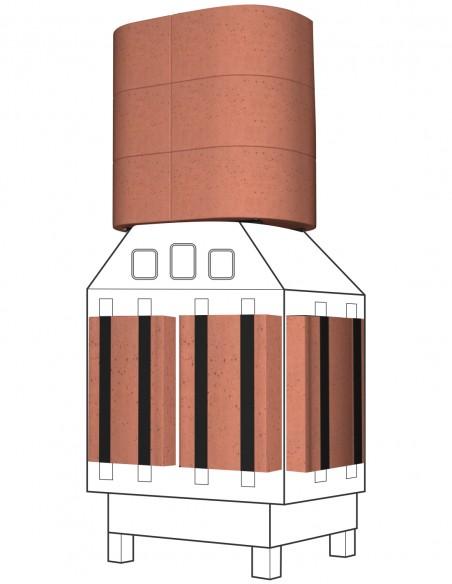 Kominek akumulacyjny AkuMix