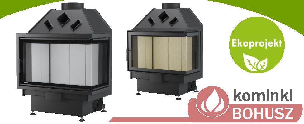 Ekoprojekt UNICO Dragon 4 B palenisko kominkowe