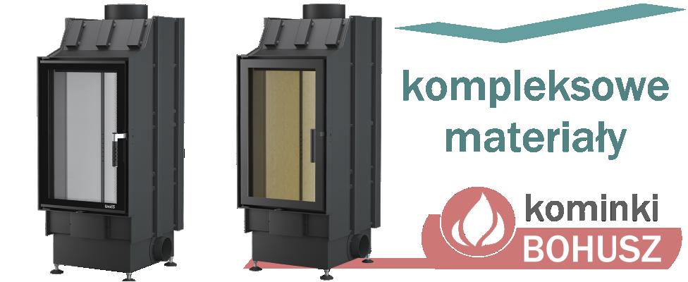Kominek ciepły - materiały do budowy kominków ciepłych