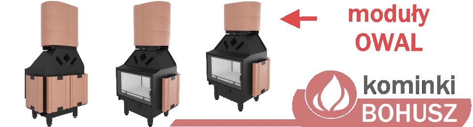 Zestawy akumulacyjne OWAL do kominków